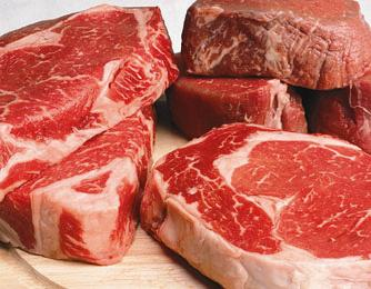 Carne, importante alimento no combate a anemia.